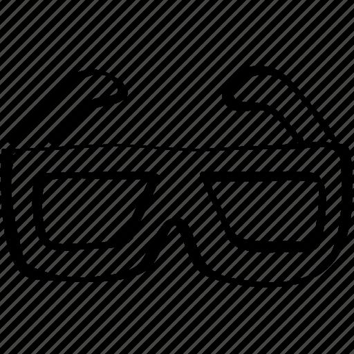 cinema, sunglasses icon icon