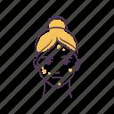 avatar, care, problem, problem skin, sketch, skin care, woman