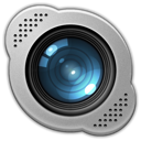 base, camera, set, skype, vibrant icon
