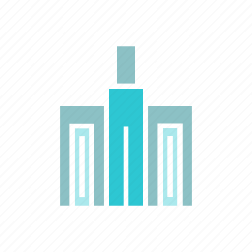 Architecture, building, city, downtown, real estate, skyscraper, tower icon - Download on Iconfinder