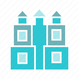 building, city, downtown, palace, real estate, skyscraper, tower icon