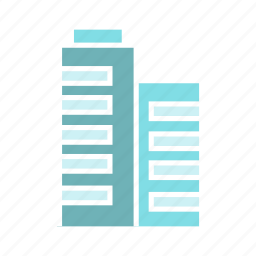 building, city, downtown, loft, real estate, skyscraper, tower icon