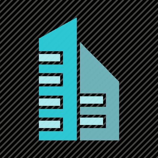 building, city, downtown, loft, real estate, skyscraper, tower icon