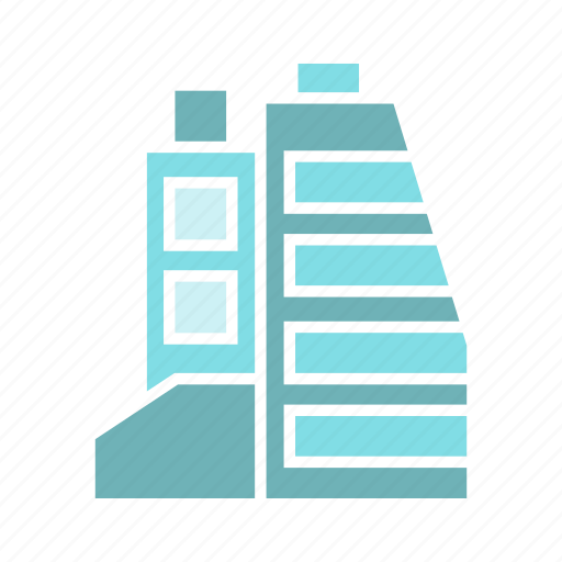 architecture, building, city, downtown, real estate, skyscraper, tower icon