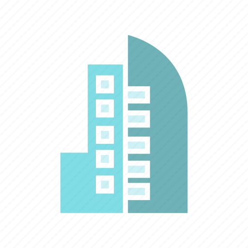 apartment, building, city, downtown, real estate, skyscraper, tower icon