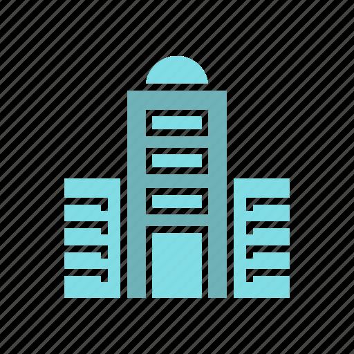architecture, building, city, downtown, real estate, skyscraper, tower icon