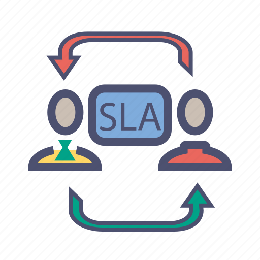 Agreement customer level provider service service level agreement customer level provider service service level agreement sla icon platinumwayz