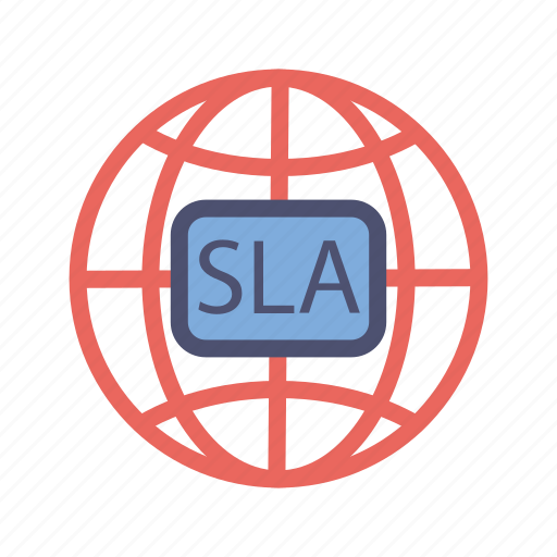 agreement, global, level, resolution, service, sla, time icon