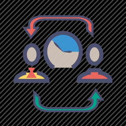 agreement, customer, level, provider, response, service, sla icon