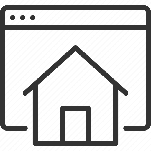 applications, document, home, house, page, web, website icon