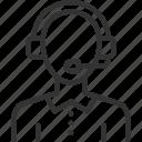 avatar, avatars, face, profile, support, user, woman icon