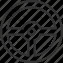 auto, car, steering, transport, travel, vehicle, wheel icon