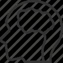 anatomy, brain, human, man, medical, person, user icon