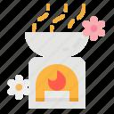 aroma, aromatherapy, aromatic, scent, zen icon
