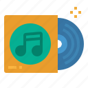 audio, cd, disc, music, song icon