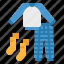 baby, clothing, pajamas, pyjama, sleep icon