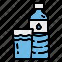 bottles, drinking, drinks, plastic, water