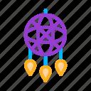 decorative, dream, dreamcatcher, talisman icon