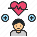condition, fitness, health, healthy, heart icon