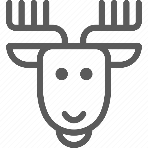 animal, beast, deer, nature, pet, wild icon