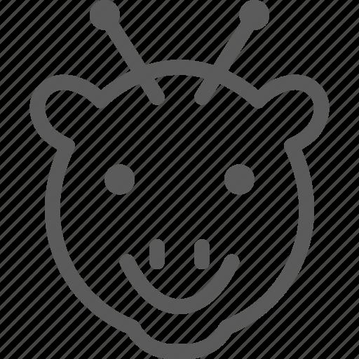 animal, beast, giraffe, nature, pet, wild icon