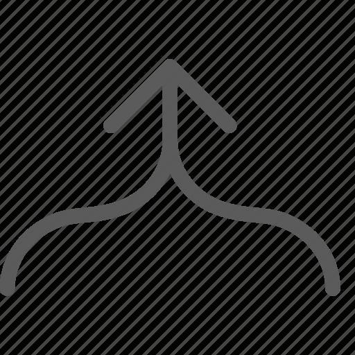 arc, badge, indication, interface, sign icon