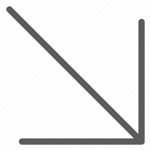 arrows, badge, corner, indication, interface, right, sign icon