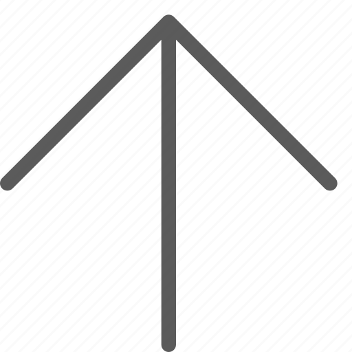 arrows, badge, indication, interface, line, sign, up icon