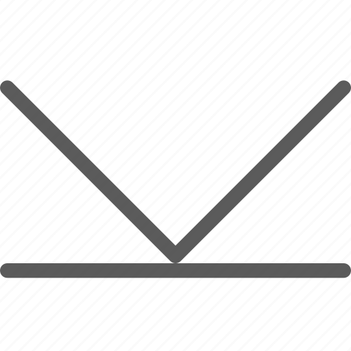 arrow, arrows, badge, down, indication, interface, sign icon