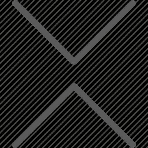 arrows, badge, facing, indication, interface, sign icon
