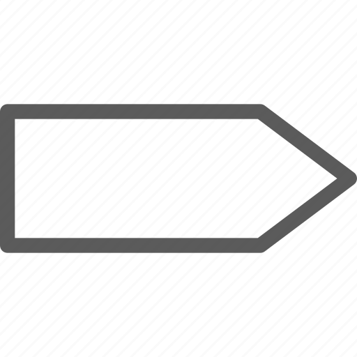 arrow, arrows, badge, box, indication, interface, sign icon
