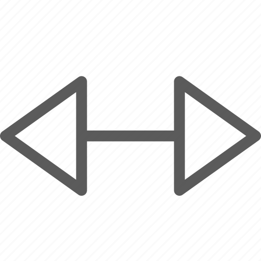 badge, indication, interface, right, sign, triangle icon