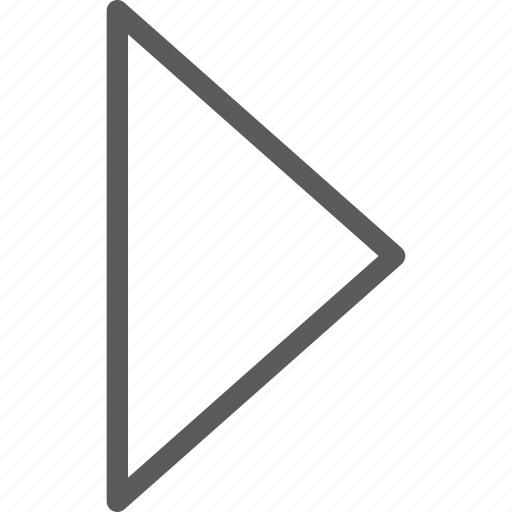 arrow, arrows, badge, closed, indication, interface, right icon