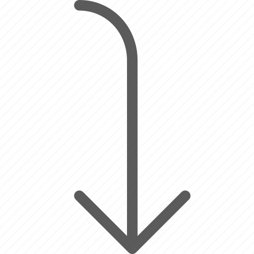 arrow, arrows, badge, indication, interface, rounded, sign icon