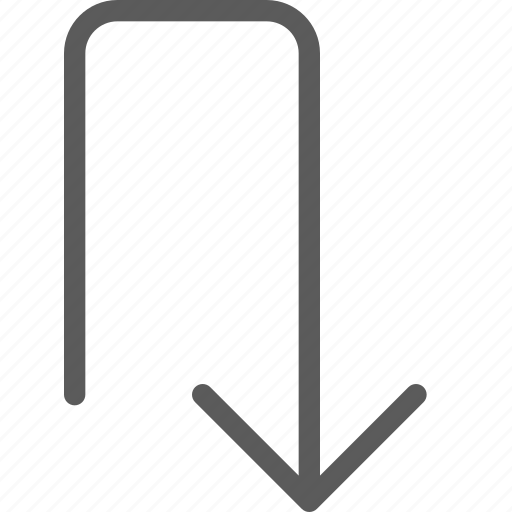 arrows, back, badge, indication, interface, sign, turn icon