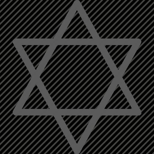 badges, insignia, judaism, ribbon, stamp icon