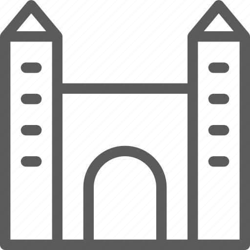 building, castle, construction, estate, landmark, property icon