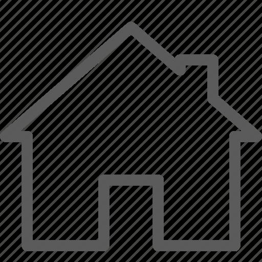 building, construction, estate, home, landmark, property icon