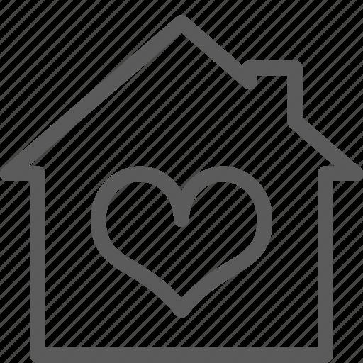 building, construction, estate, favorite, home, landmark, property icon