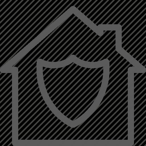 building, construction, estate, home, insurance, landmark, property icon