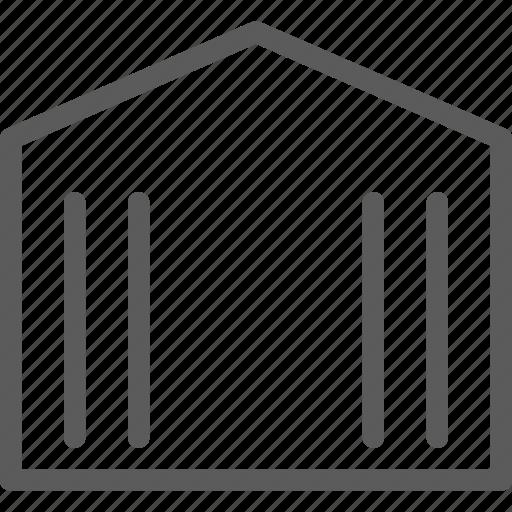 building, construction, estate, landmark, official, property icon