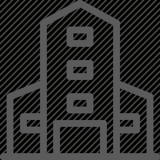building, construction, estate, landmark, property, university icon
