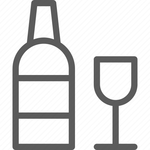 bar, bottle, cafe, coffee, glass, lounge, restaurant icon