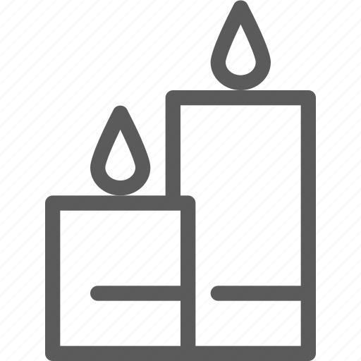 bar, cafe, candles, coffee, lounge, restaurant icon