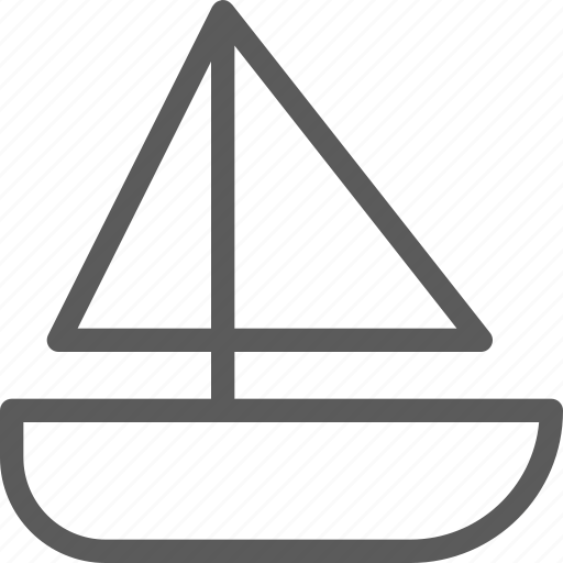 boat, camping, explore, outdoor, trip, vocation icon