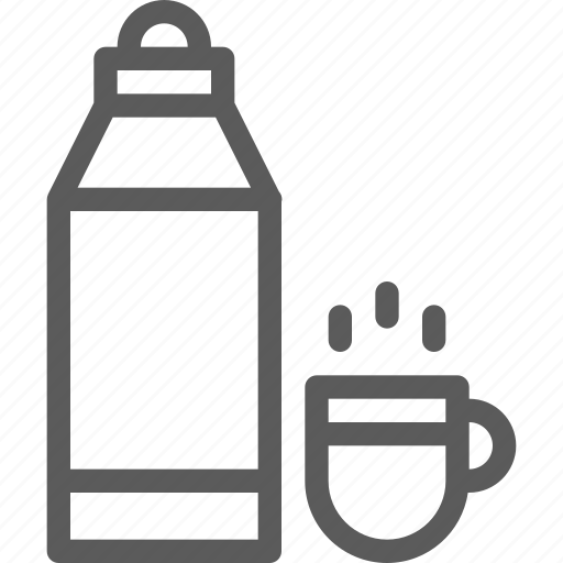 bottle, camping, explore, liquid, outdoor, trip, vocation icon