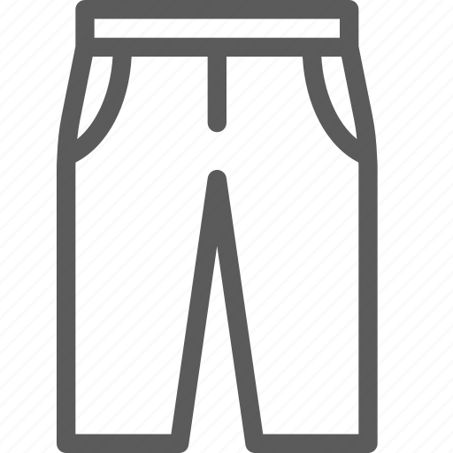 apparel, clothes, dress, gear, outfit, pants icon