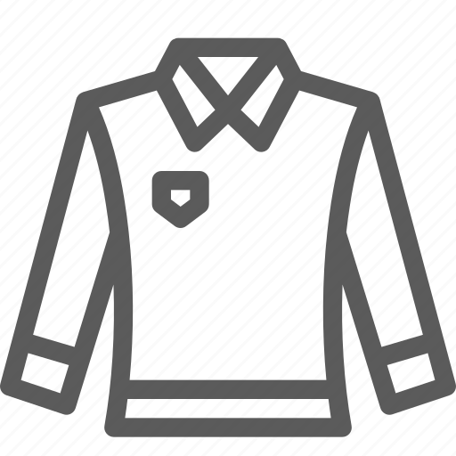 apparel, clothes, dress, gear, outfit, shirt, sleeve icon