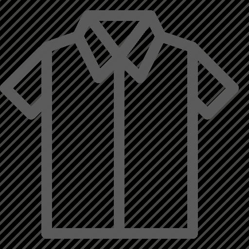 apparel, clothes, dress, gear, shirt, short, sleeve icon