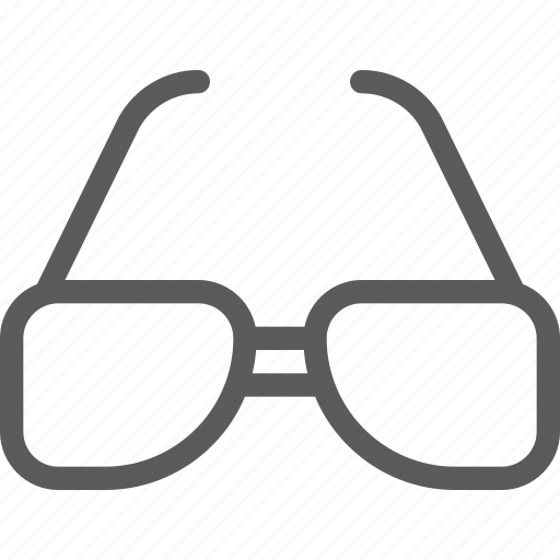 apparel, clothes, dress, gear, outfit, sunglasses icon